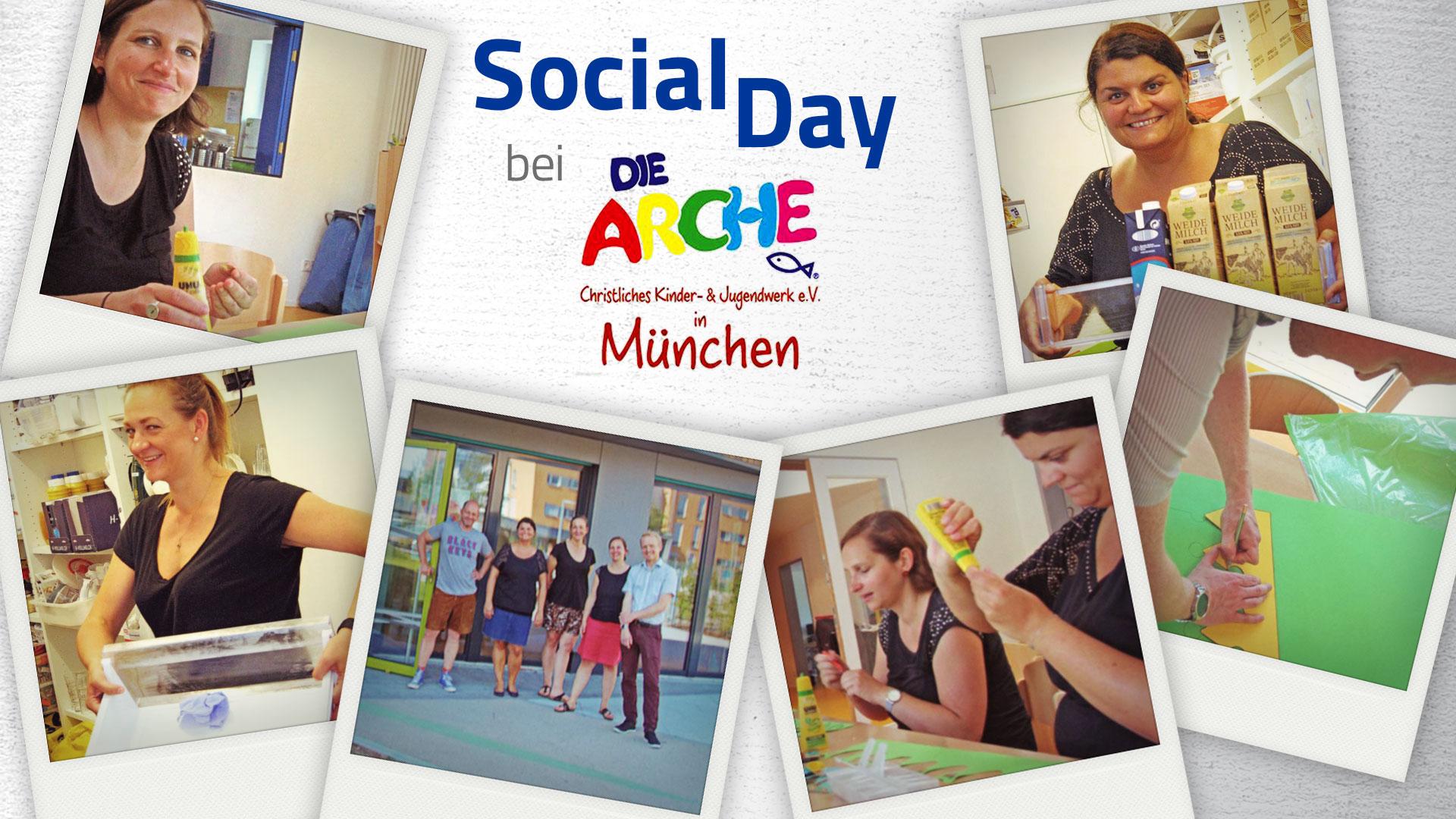 DVA Social Day bei der Arche München