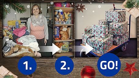 Weihnachten im Schuhkarton - DVA Team engagiert sich für Heimkinder in Rumänien