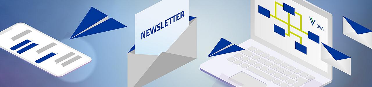 Informieren Sie sich aus erster Hand über Seminare, Lehrgänge und Tagungen mit dem Newsletter der DVA. So verpassen Sie keine Veranstaltung.