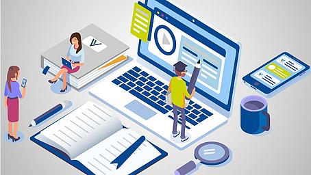 Online kommunizieren in der digitalen Arbeitswelt