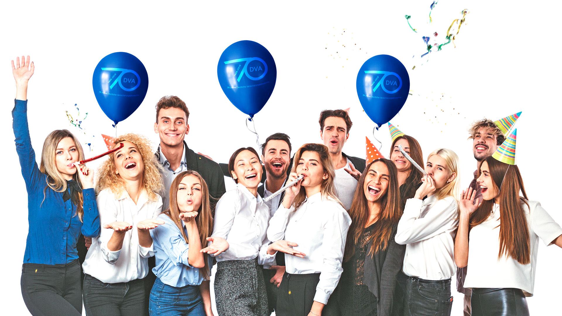70Jahre Partybild Deutsche Versicherungsakademie DVA