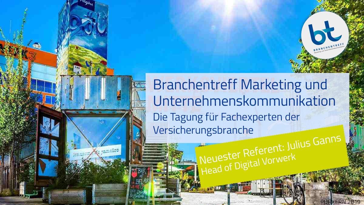 Branchentreff Marketing und Unternehmenskommunikation am 21. - 22. April 2020 in München